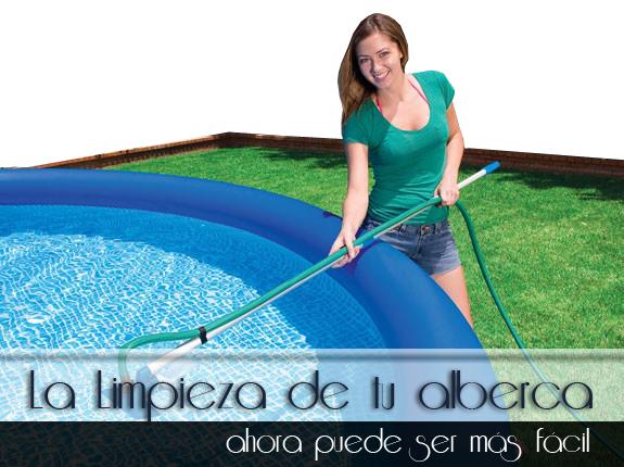 Sistemas de limpieza para piscinas albercas for Productos de limpieza de piscinas