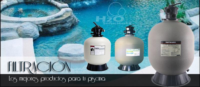 Filtros para albercas piscinas for Filtros de agua para piscinas