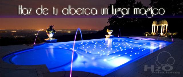 Reflectores para piscina alberca for Piscinas plasticas colombia