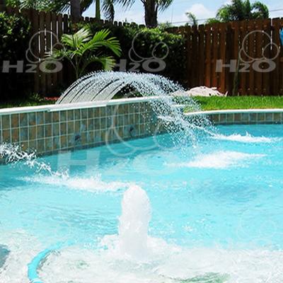 Fuentes y cascadas for Chorros para piscinas