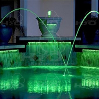 Fuentes y cascadas for Disenos de cascadas para piscinas