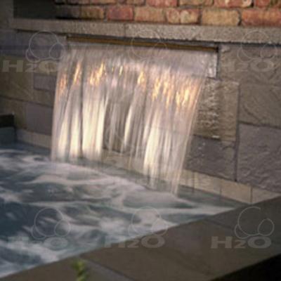 Fuentes y cascadas for Cascada artificial en pared