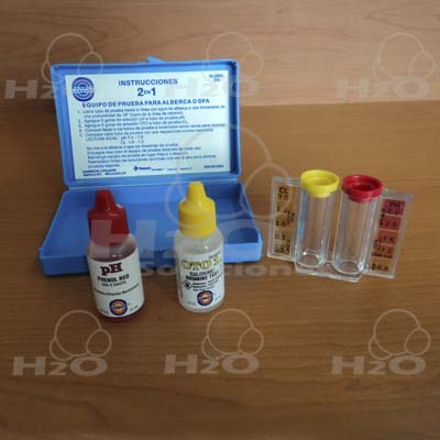 Kit de ph-cl, Kits analizadores, Kits para agua